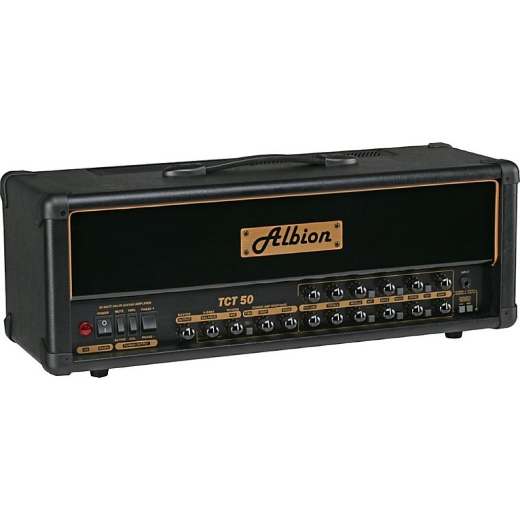 Albion TCT50H Tube Guitar Amp Head + GLS412 Speaker Cabinet with Flight Case