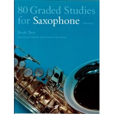 80 Graded Studies for Saxophone Book 2  (Faber)