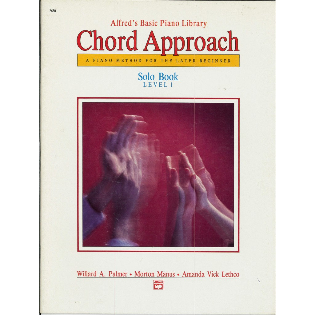 Alfreds Basic Piano Chord Approach Solo Book Level 1
