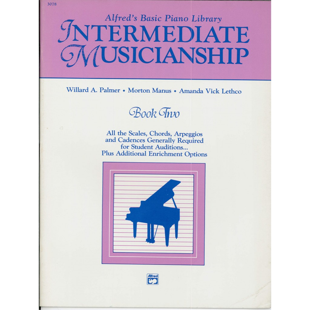 Alfreds Basic Piano Intermediate Musicianship Book 2