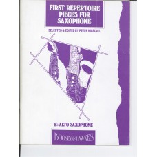 First Repertorie Pieces for Saxophone