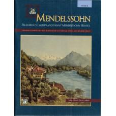 Mendelssohn 24 Songs Medium