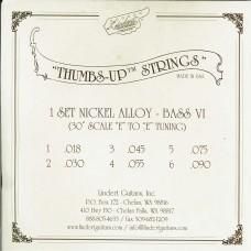 """Thumbs-Up"" 6 Strings Bass Set"