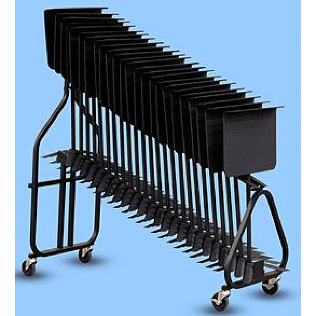 Hamilton Music Stand Rack Cart (for 24 piece of KB95E)