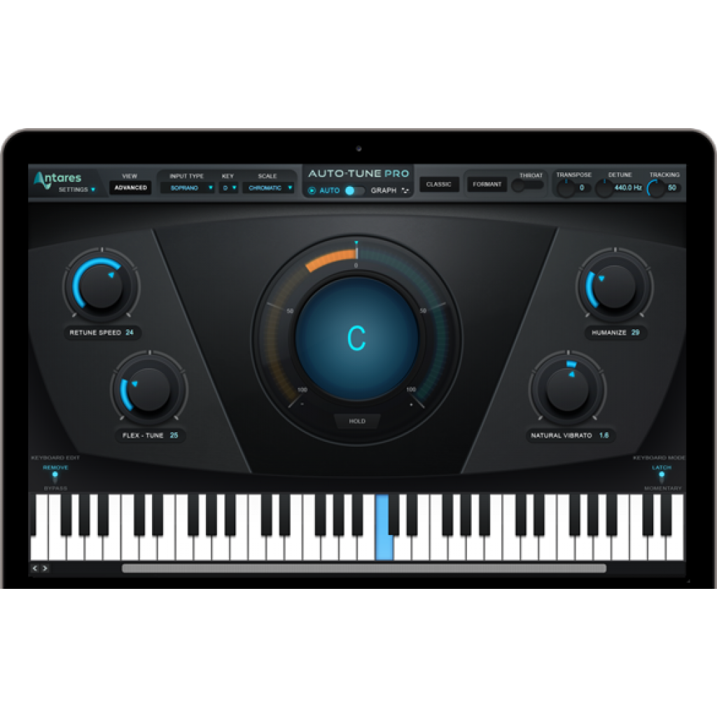 Antares Auto-Tune Pro (Download) | 曾福琴行 Tsang Fook Piano