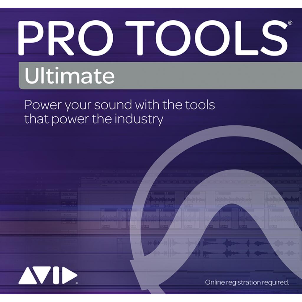 Avid Pro Tools Ultimate - Perpetual (Download) | 曾福琴行 Tsang Fook