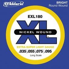 Daddario EXL-180 Bass Guitar Strings Set