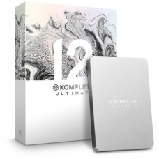 Native Instruments Komplete 12  Ultimate Collectors' Edition (Box) [Upgrade from Komplete 8-12]