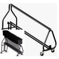 Hamilton KB100 Music Stand Storage Cart