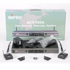 Mipro ACT100A Wireless Headset Microphone System