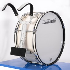 New Sound PB-22 Parade Bass Drum and Suzuki DMP-477 Bass Drum Holder