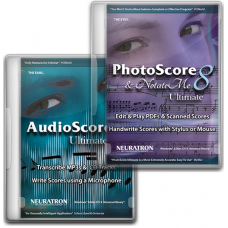 Neuratron PhotoScore&Notate Me Ultimate 8 and AudioScore Ultimate 8 (Download)