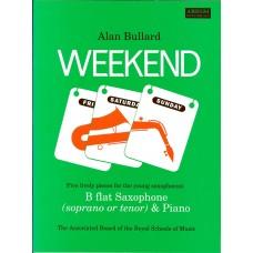 Weekend by Alan Bullard for Saxophone (ABRSM)