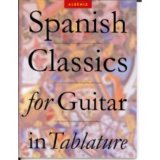 Albeniz Spanish Classics for Guitar in Tablature (Wise Publication)