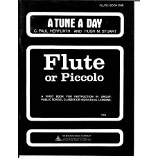 A Tune A Day for Flute or Piccolo Book One (Boston Music)