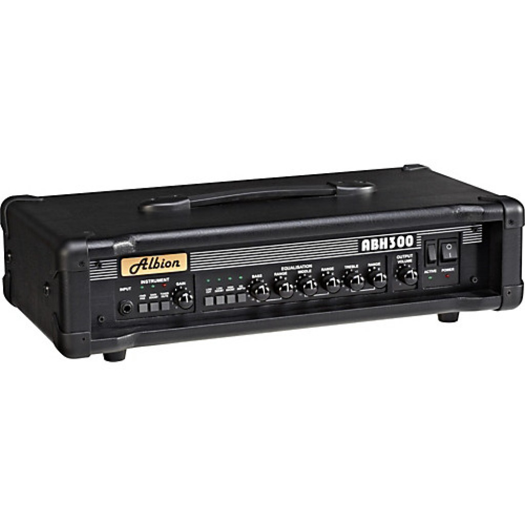 Albion ABH300H Bass Amp Head + BLS210 Speaker Cabinet