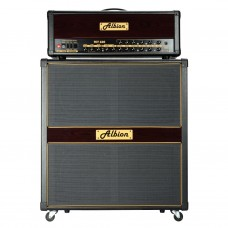 Albion TCT100H Tube Guitar Amp Head + GLS412 Speaker Cabinet with Flight Case