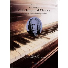J.S. Bach Well-Tempered Clavier Vol. 4 by Siglind Bruhn