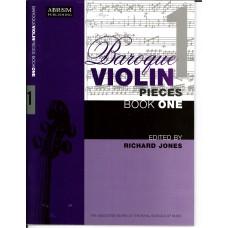 Baroque Violin Pieces Book 1 (ABRSM)