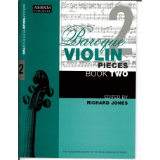 Baroque Violin Pieces Book 2  (ABRSM)