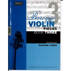 Baroque Violin Pieces Book 3  (ABRSM)