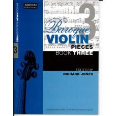 Baroque Violin Pieces Book 3  (ABRSM)