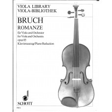 Bruch Romanze for Viola op.85 (Schott)