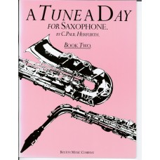 A Tune A Day for Saxophone Book Two (Boston Music)