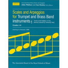 Scales and Arpeggios for Trumpet Grade 1-8 (ABRSM)