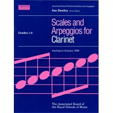 Scales and Arpeggios for Clarinet Grade 1-8 (ABRSM)