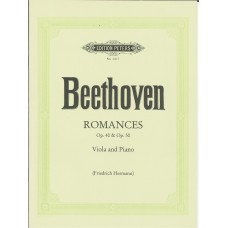 Beethoven Romances Op.40 and Op.50 for Viola (Peters Edition)