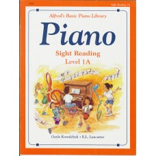 Alfred's Basic Piano Sight Reading Level 1A