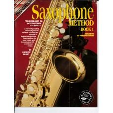 Progressive Saxophone Method Book 1 with CD