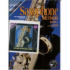 Progressive Saxophone Method Book 2 with CD