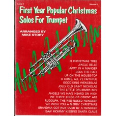 First Year Popular Christmas Solos for Trumpet