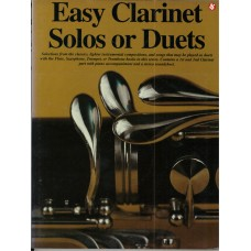 Easy Clarinet Solos or Duets