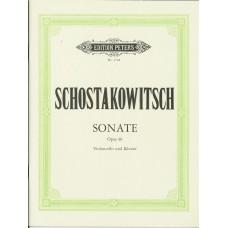 Schostakowitsch Sonate Op.40 for Cello