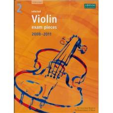 ABRSM Violin Exam Pieces Grade 2  (2008-11)