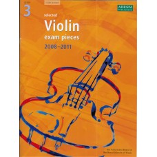ABRSM Violin Exam Pieces Grade 3  (2008-11)