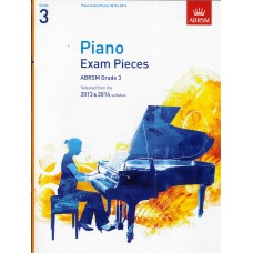 ABRSM Piano Exam Pieces Grade 3  (2013-14)