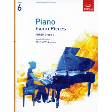 ABRSM Piano Exam Pieces Grade 6  (2013-14)