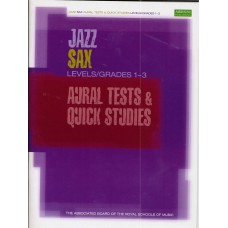 ABRSM Jazz Saxophone Aural Tests and Quick Studies Grade 1-3