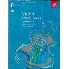 ABRSM Recordings of Violin Exam Pieces Grade 8 with 3CD (2012-15)