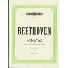 Beethoven Sonatas Vol 2 Op.30,47,96 for Violin