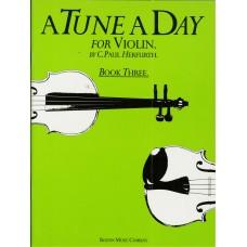 A Tune A Day for Violin Book 3