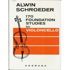 Alwin Schroeder 170 Foundation Studies for Cello