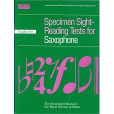 Specimen Sight Reading Tests for Saxophone Grade 6-8