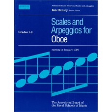 Scales and Arpeggios for Oboe Grade 1-8