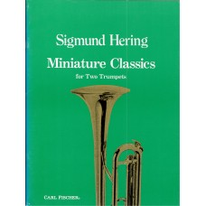 Sigmund Hering Miniature Classics for Two Trumpets