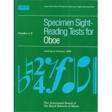 Specimen Sight Reading Tests for Oboe Grade 1-5